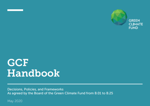 [GCF] GCF handbook: Decisions, policies and frameworks (updated May 2020)